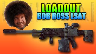 Loadout Bob Ross LSAT | Battlefield 4 LMG Gameplay