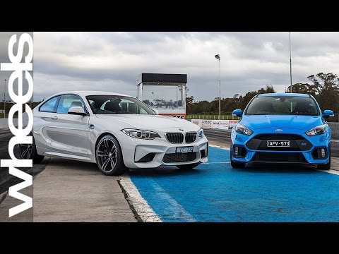 2016 Ford Focus RS vs BMW M2 Pure | Car Comparisons | Wheels Australia