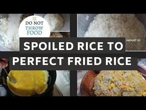 How to Clean and Cook Spoiled rice/Panis na kanin #philippines #pinayideas