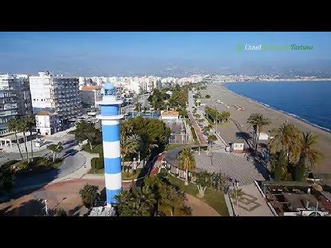 Torre del Mar, Faros y Paseo de Larios. Málaga