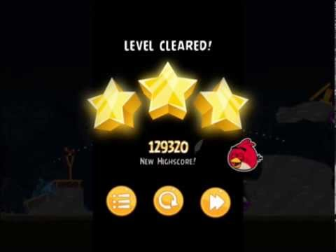 Angry Birds 29-7 Flock Favorites. 3 Stars