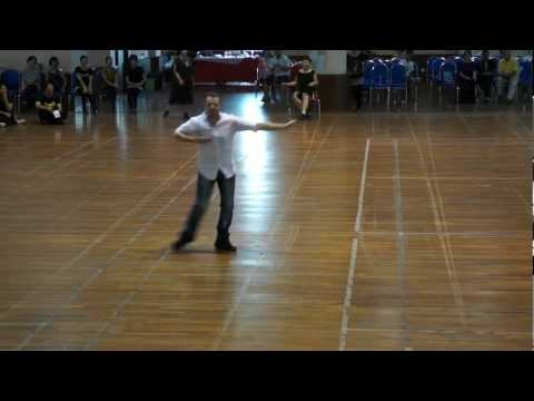 Windy City Waltz- Line dance demo. by Darren Bailey