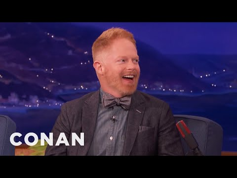 Jesse Tyler Ferguson On Ed O'Neill's Fake Penis Prank   CONAN on TBS