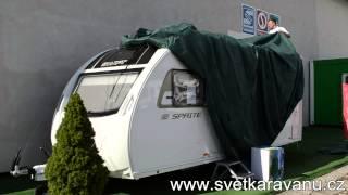 Krycí a ochranná plachta na karavan