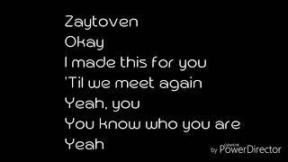 Usher - Peace sign ft Zaytoven (Lyrics