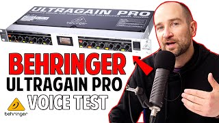 behringer Ultragain Pro MIC2200   Voice Test with 5 Microphones