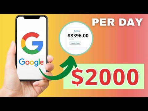 Make $1250+ From Google News PER DAY (Make Money Online)