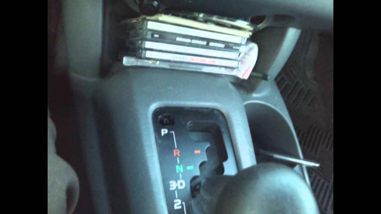 Toyota Corolla Repair Manual: Shift lock system (atm)
