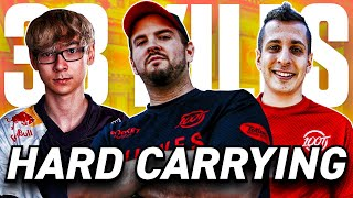 CARRYING TENZ & STEEL ON SOVA *3.7 KDA*   MOST INTENSE 5 PROS VS 5 PROS COMPETITIVE GAME