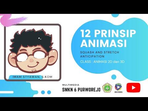 Gambar Animasi Anticipation Animasi2d3d 12prinsipanimasi 12 Prinsip Animasi Part 1 Squash And Stretch Anticipation Youtube