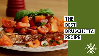Bruschetta | easy recipe and all nutrition info