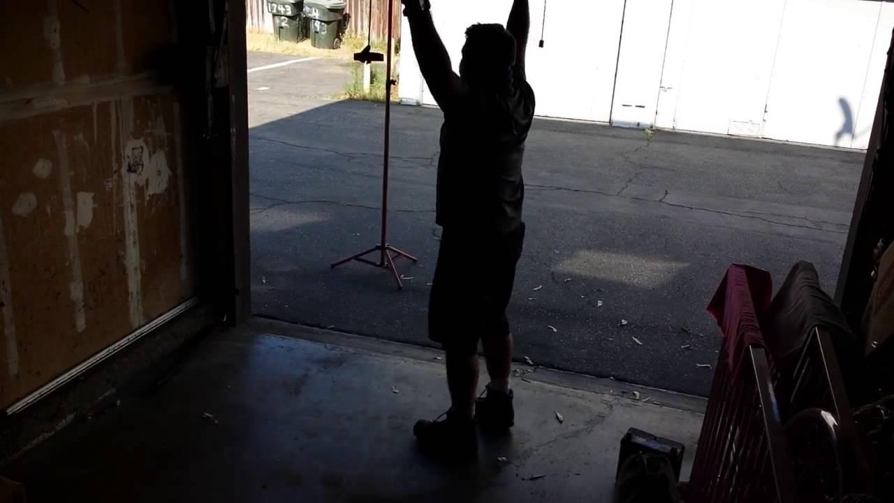 Sos Garage Door Service In Full Swing Youtube