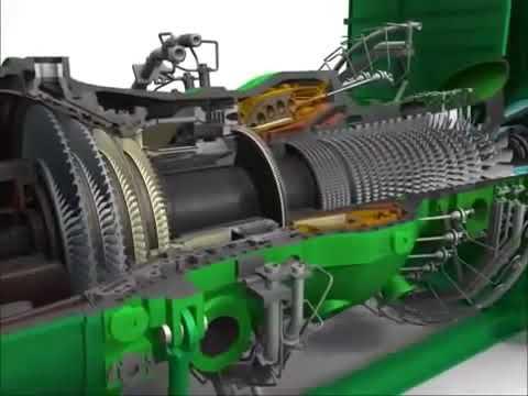 Principe turbine à gaz