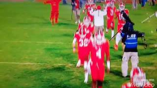 Clemson vs South Carolina 2016 Recap. [Hail to the King]