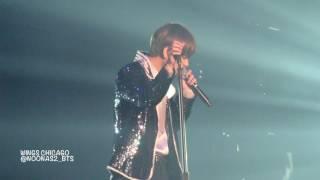 "170329 WINGS CHICAGO ""Stigma"" 방탄소년단/BTS 뷔/V"