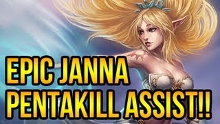 League Of Legends - But Then Came Janna!! thumbnail