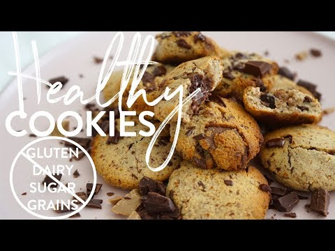 HEALTHY CHOC-CHIP COOKIES | NO Gluten, Dairy, Sugar or Grains!