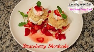 Strawberry Shortcake Recipe - How to make Strawberry Shortcake