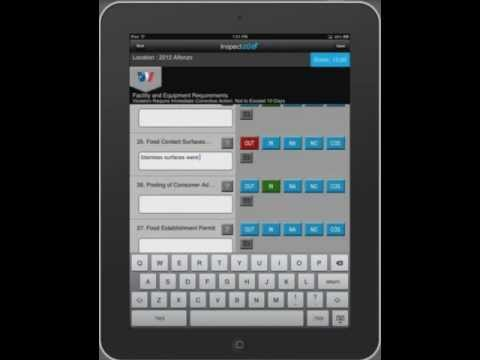 Inspect2go -- Restaurant Health Inspection Software for DOH/EHS on iPad (Health Code Audit Apps)