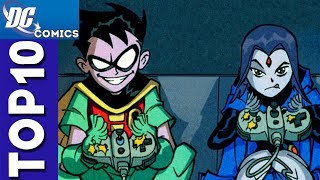 Top 10 Funny Moments From Teen Titans Season 1 [#2]