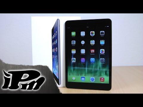 Apple iPad mini 2 Retina Spacegrey Unboxing [Deutsch/German]