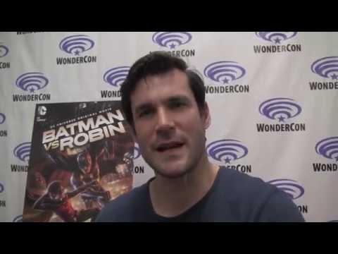 BATMAN VS. ROBIN WonderCon 2015 Premiere   with Sean Maher