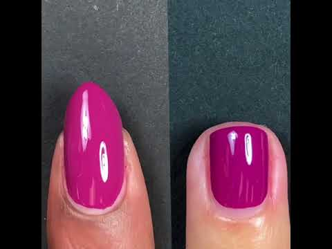 Zoya Nail Polish: Donnie Live Application - YouTube