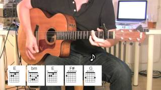 Happy Together - Acoustic Guitar - chords - original vocal track - The Turtles