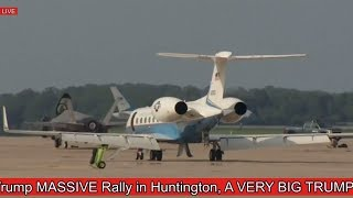 WATCH: Air Force One AMAZING TAKEOFF with President Donald Trump to Huntington, West Virginia Rally