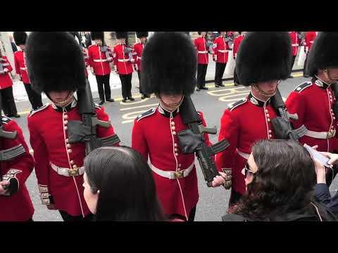 Escort To The Crown (of Scotland) - Basic Drill Movements At Scottish Parliament [4K/UHD]