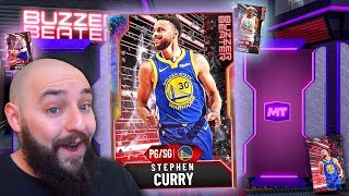 NBA 2K20 My Team OPAL STEPH CURRY! BUZZER BEATER PACK OPENING!!!