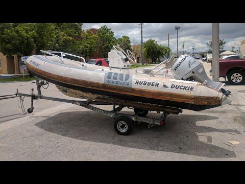 This Rib Boat Deserved The Restoration It Got ! (Novurania 460)