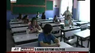 E-SINAV SİSTEMİ GELİYOR