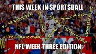 This Week in Sportsball: NFL Week Three Edition (2019)