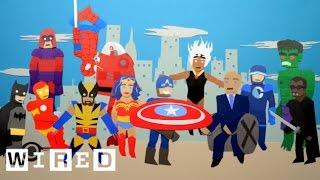 Video DC vs. Marvel: Box Office Battle | Data Attack | WIRED download MP3, 3GP, MP4, WEBM, AVI, FLV Juni 2018