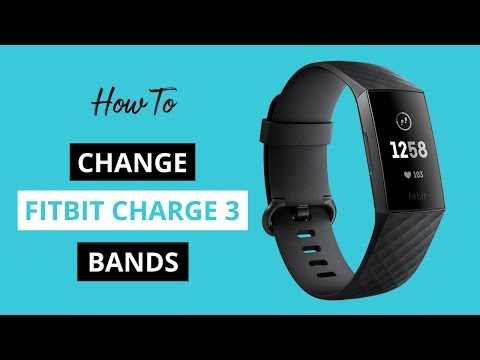 How to Change Fitbit Charge 3 Bands - YouTube
