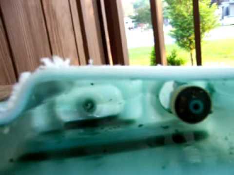 Oil Reservoir Tank Cut Open to Expose Inside Float Switch  Mercury Bigfoot Outboard Motor  YouTube