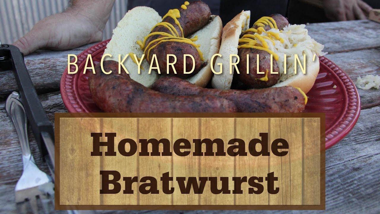 Homemade Bratwurst - YouTube