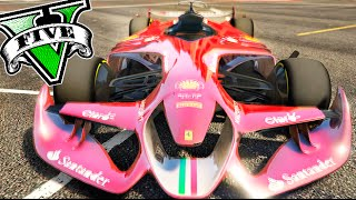 NUEVO FORMULA ONE !! FERRARI CONCEPT F1 GTA V PC MODS Makiman