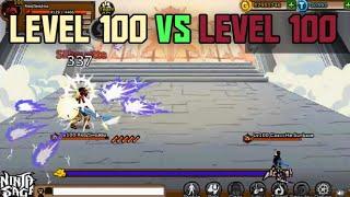 Ninja Saga Pvp Level Ryeasnasw Vs Lvl Caacche Sunkaze