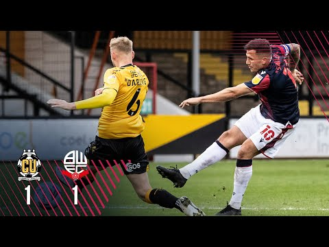 Cambridge Utd Bolton Goals And Highlights
