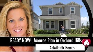 New Homes Winter Garden Florida-  Monroe Floor Plan at Orchard Hills by CalAtlantic