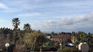 숲속의 궁전에서 바라본 서귀포 하늘 타임랩스