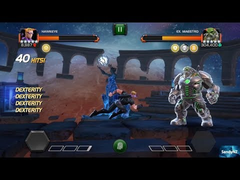 EX. MAESTRO VS HAWKEYE | LABYRINTH OF LEGENDS | BEYOND ALL HOPE | MARVEL CONTEST OF CHAMPIONS