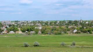Березанка    Панорама с горы   Украина   Николаевская область   п г т Березанка 2015(, 2016-08-31T13:40:54.000Z)