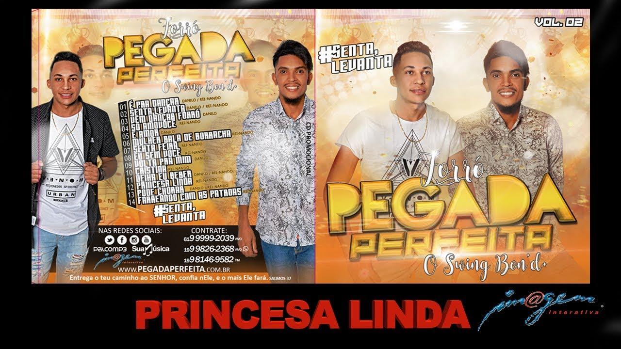#Forró Pegada Perfeita Vol 2 - Princesa Linda ( CD 2019 )