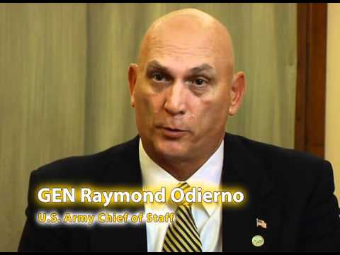 Gen. Raymond Odierno at the Conference of European Armies ...