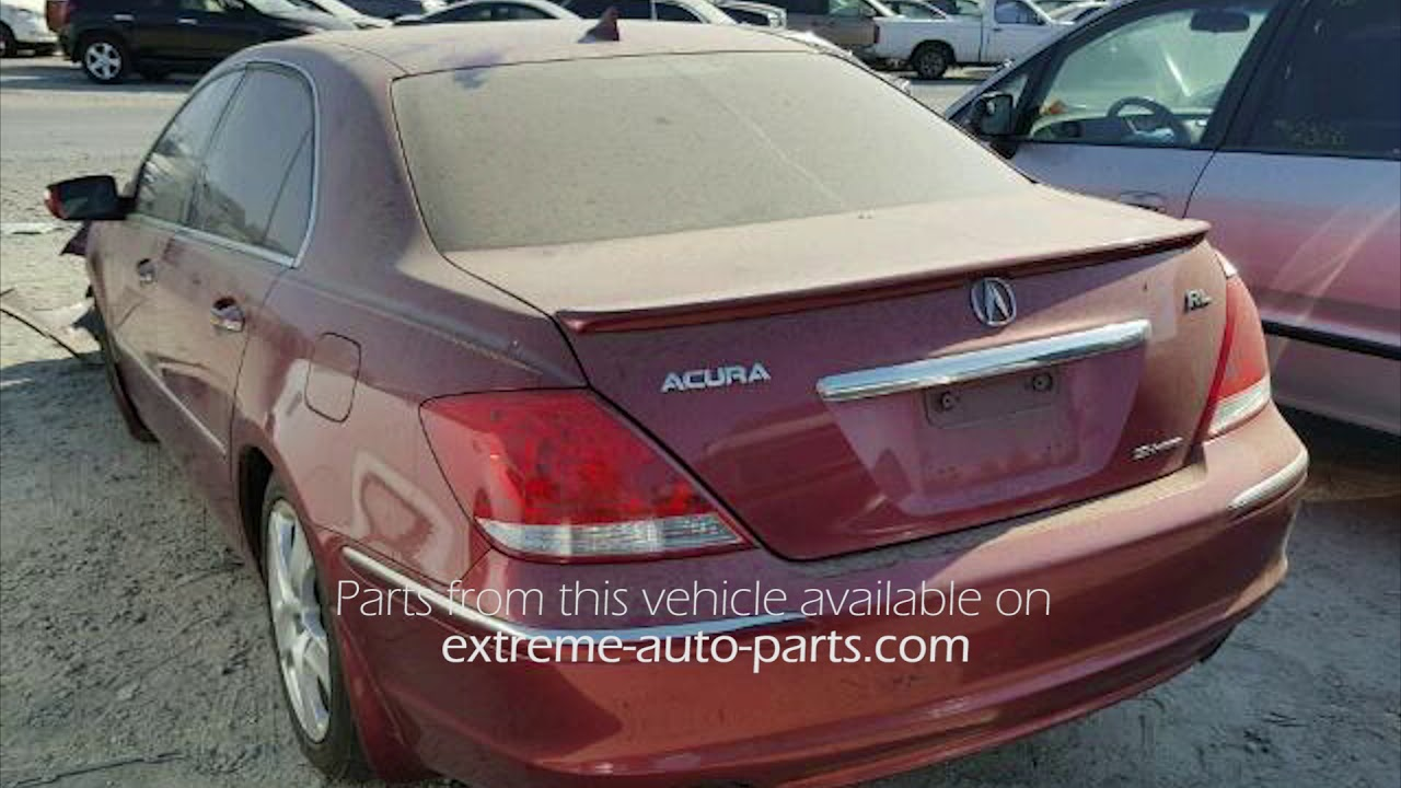 Acura RL Red Parting Out AA YouTube - 2005 acura rl parts