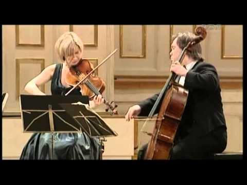 Mozart, Streichquartett A Dur KV 464   Hagen Quartett