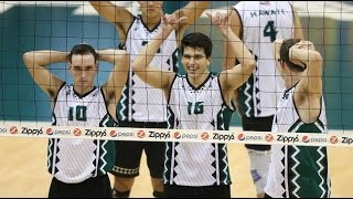 Hawaii Warrior Men Volleyball 2016 - #5 Hawaii Vs UC San Diego